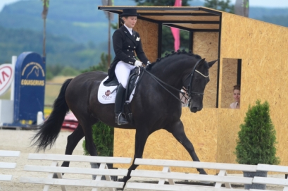 Ducado qualified for the finals of the European Championship of the Iberian Horse in Dressage held in Italy this year